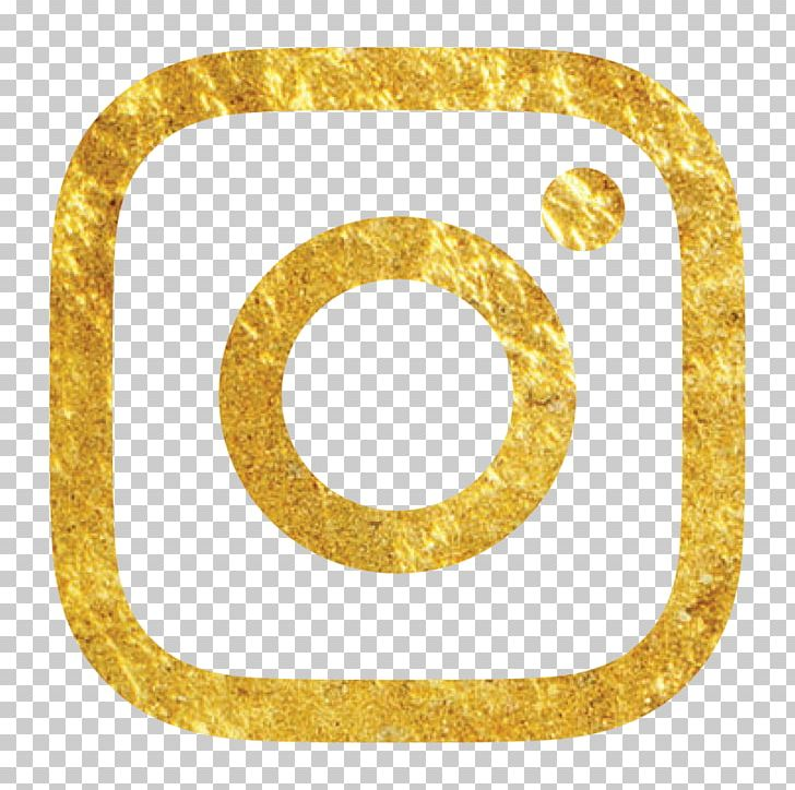 Social Media Gold Logo Brand Instagram PNG, Clipart, Blog, Body Jewelry, Brand, Business, Circle Free PNG Download