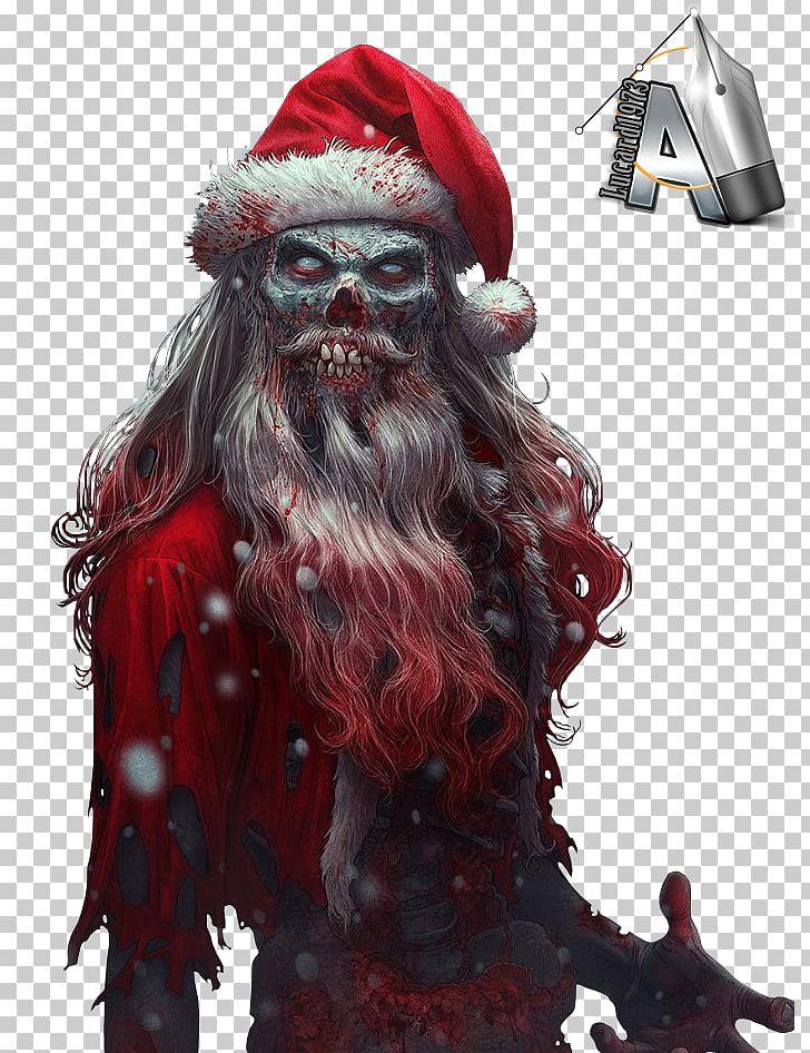 Evil Christmas.Santa Claus Christmas Evil Rudolph Png Clipart Bad Santa