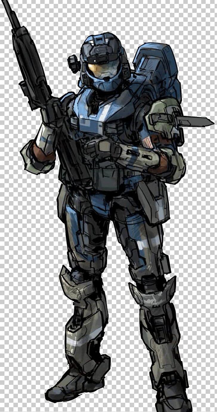 Halo 3 Odst Concept Art