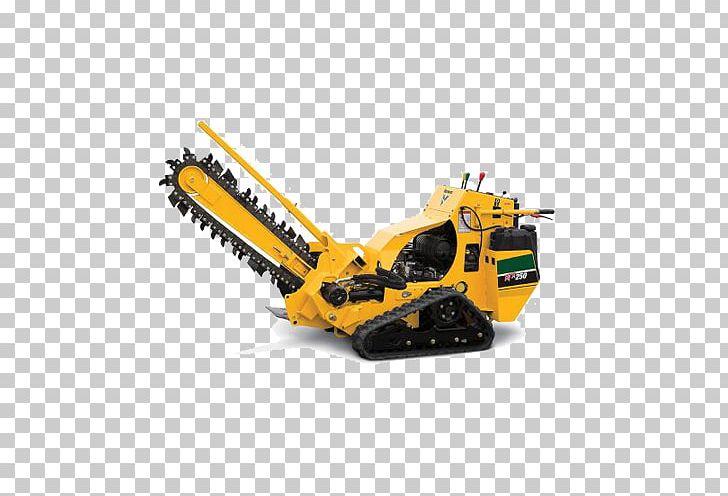 Trencher Caterpillar Inc  Heavy Machinery Equipment Rental Skid