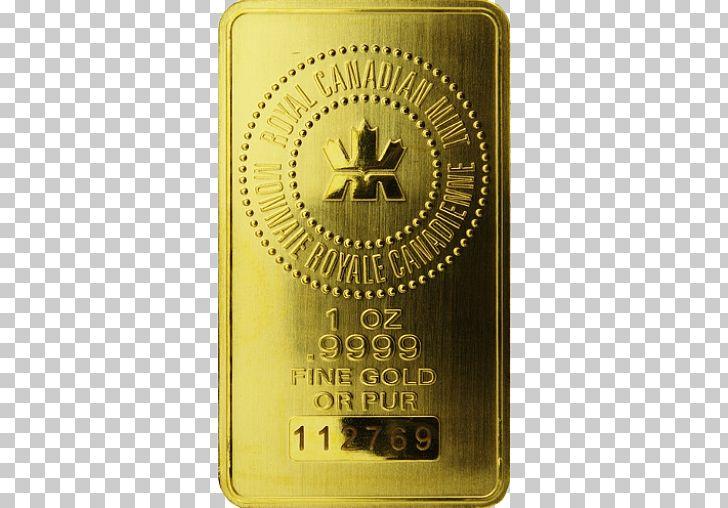 Gold Bar Gold Coin Bullion Royal Canadian Mint PNG, Clipart