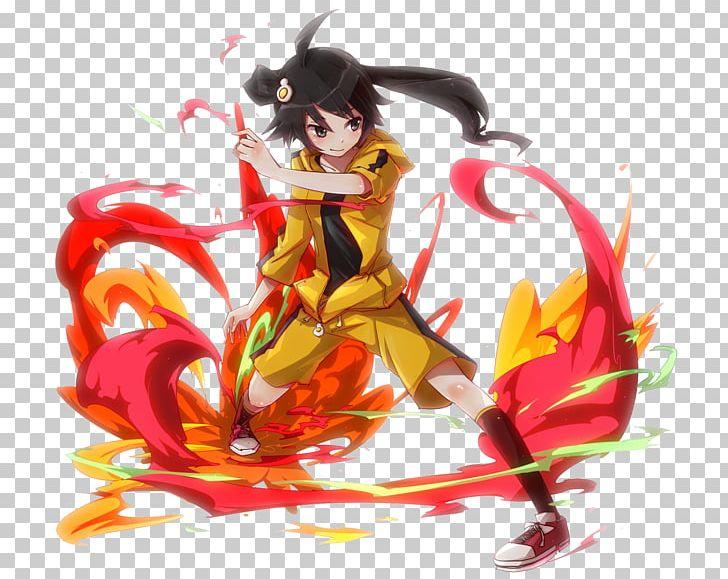 Monogatari Series Tsukimonogatari Nisemonogatari Desktop Png Clipart Anime Art Character Computer Wallpaper Desktop Wallpaper Free Png