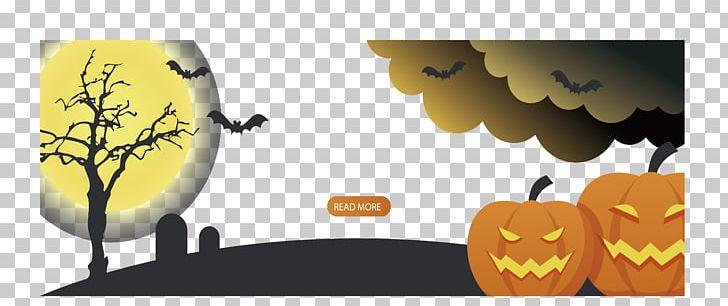Halloween Banner Illustration PNG, Clipart, Atmosphere, Brand, Computer Wallpaper, Design, Desktop Wallpaper Free PNG Download