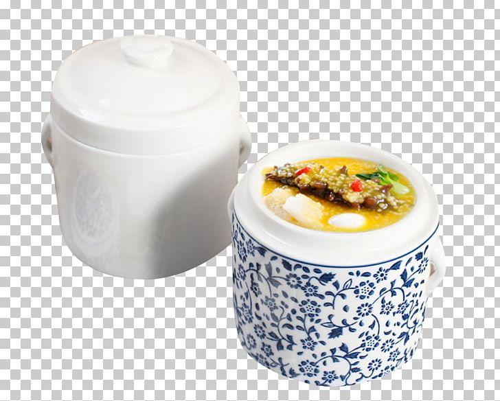 Edible Birds Nest Chinese Steamed Eggs Simmering Porcelain Ceramic