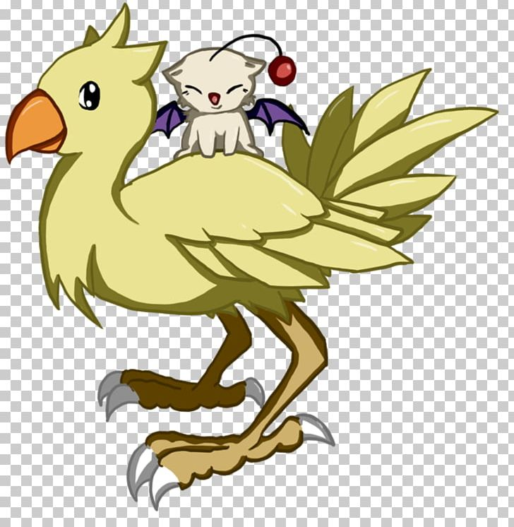 Chocobo Mog Final Fantasy Spoonflower Pattern PNG, Clipart