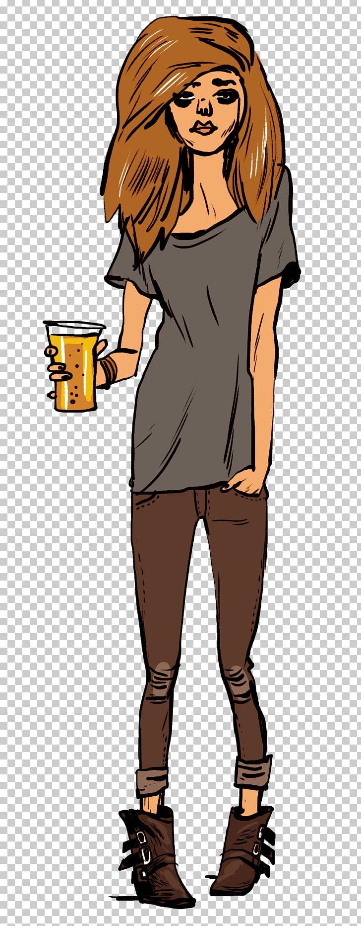 Human Behavior Shoulder Shoe Cartoon PNG, Clipart, Anheuserbusch, Art, Beer, Behavior, Brown Hair Free PNG Download