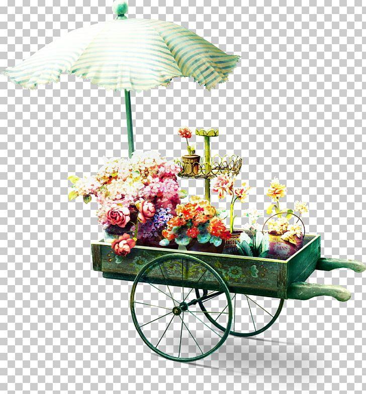 Flower Garden Floristry PNG, Clipart, Artificial Flower, Cart, Carts, Color, Floral Design Free PNG Download