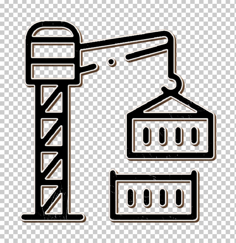 Industry Icon Crane Icon Container Icon PNG, Clipart, Container Icon, Crane, Crane Icon, Freight Transport, Industry Icon Free PNG Download