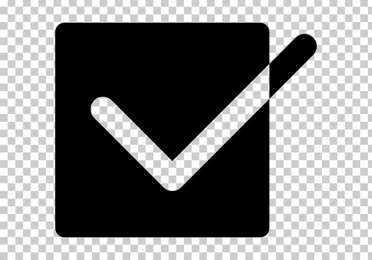 Check Mark Checkbox Computer Icons PNG, Clipart, Angle, At Sign, Black, Black And White, Black Box Free PNG Download