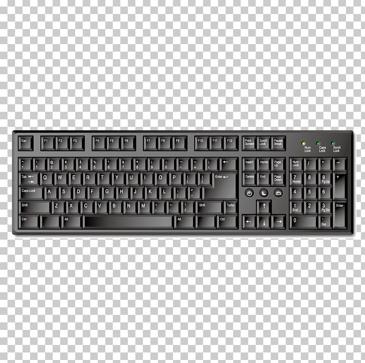 Computer Keyboard PNG, Clipart, Accessories, Black, Black Hair, Black White, Cdr Free PNG Download