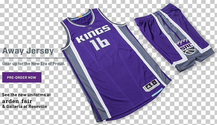 best sneakers 8dc5f 8578f Jersey Sacramento Kings 2016–17 NBA Season Purple Basketball ...