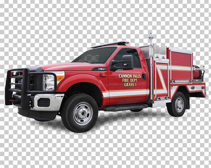 Car Wildland Fire Engine Pickup Truck Truck Bed Part Png Clipart