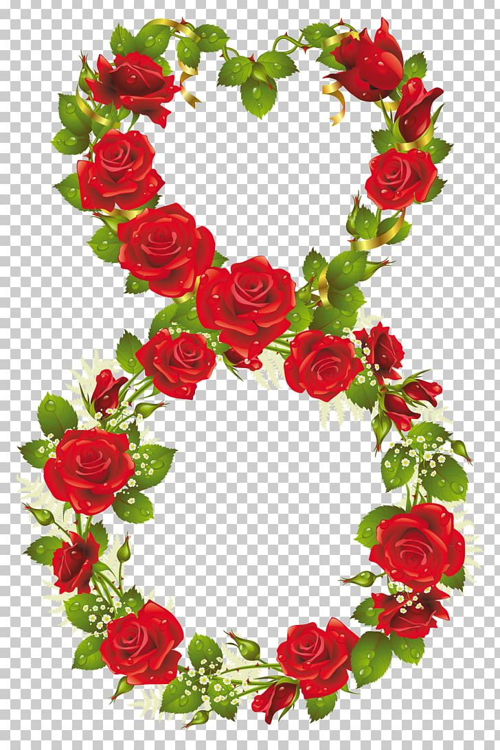 Rose March 8 International Women's Day Flower PNG, Clipart, Artificial Flower, Christmas Decoration, Cut Flowers, Decor, Floral Design Free PNG Download