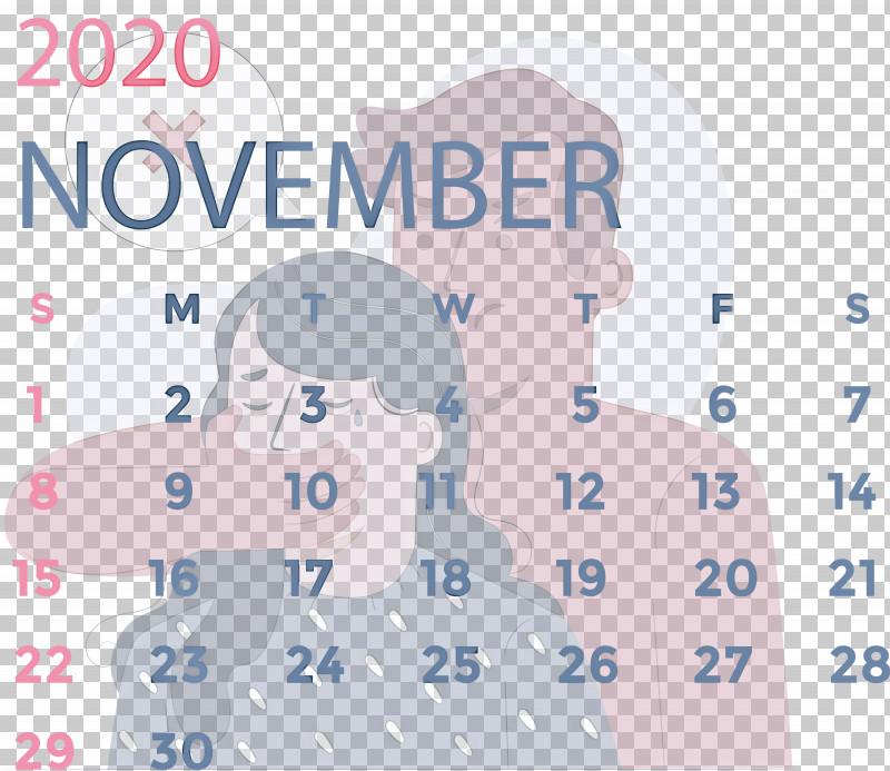 November 2020 Calendar November 2020 Printable Calendar PNG, Clipart, Area, Biology, Calendar System, Cartoon, Line Free PNG Download