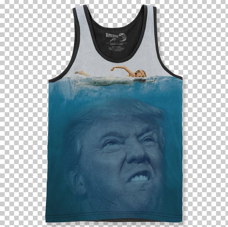 90ee4e1e4e3 Donald Trump T-shirt Jaws United States YouTube PNG, Clipart, Active ...