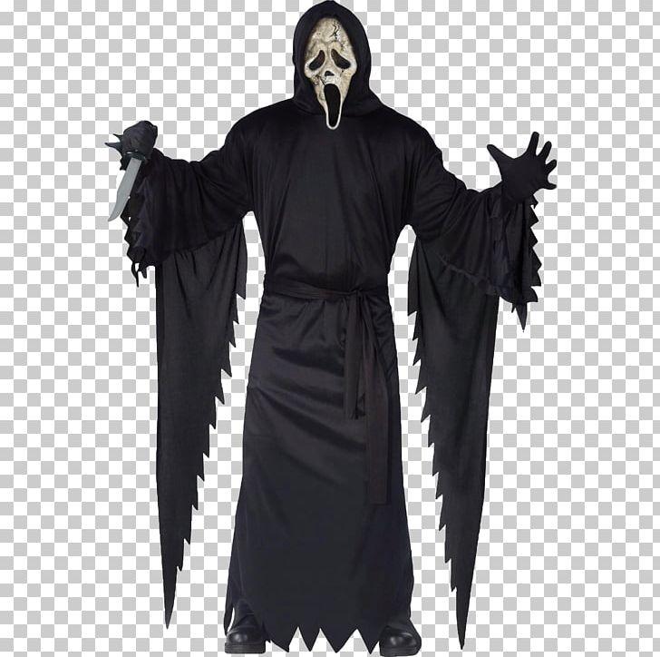 Halloween Michael Myers Costume.Ghostface Michael Myers Costume Scream Mask Png Clipart Art Cloak
