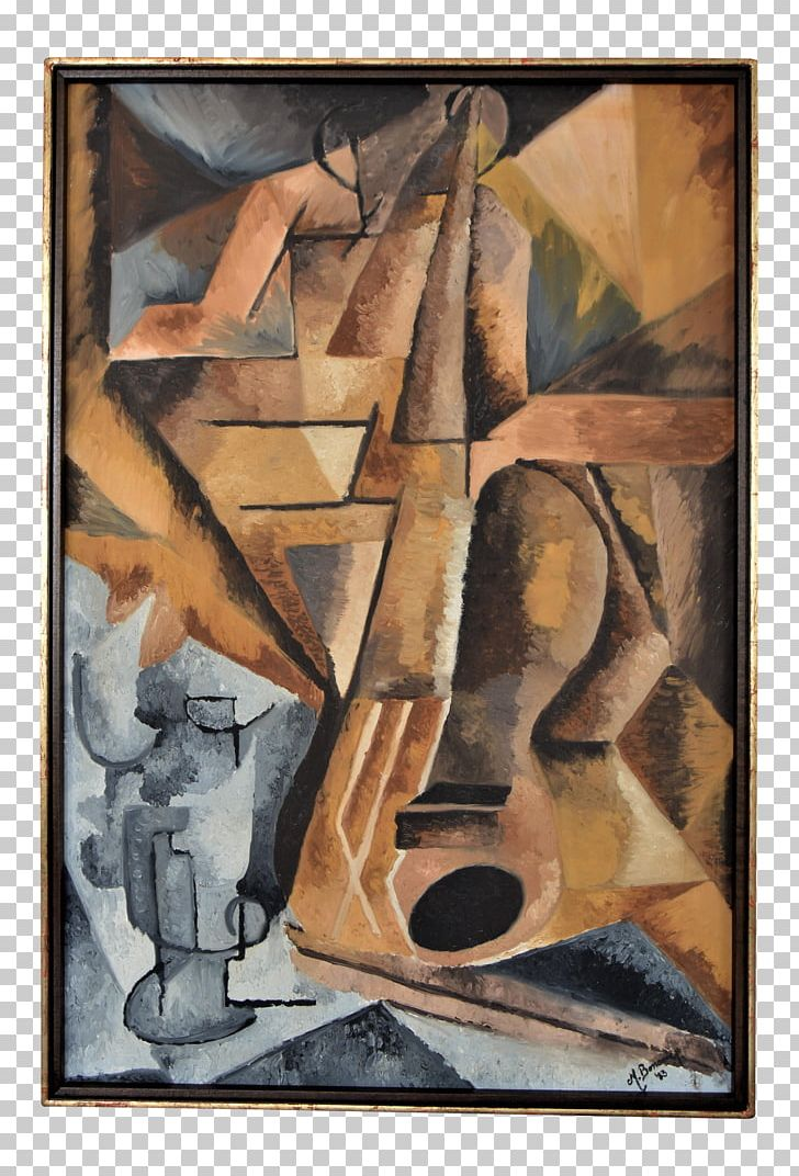 Modern Art Still Life Oil Painting Cubism PNG, Clipart