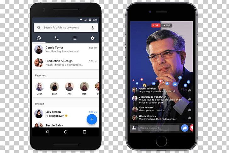 Workplace By Facebook Mobile Phones Facebook Messenger PNG