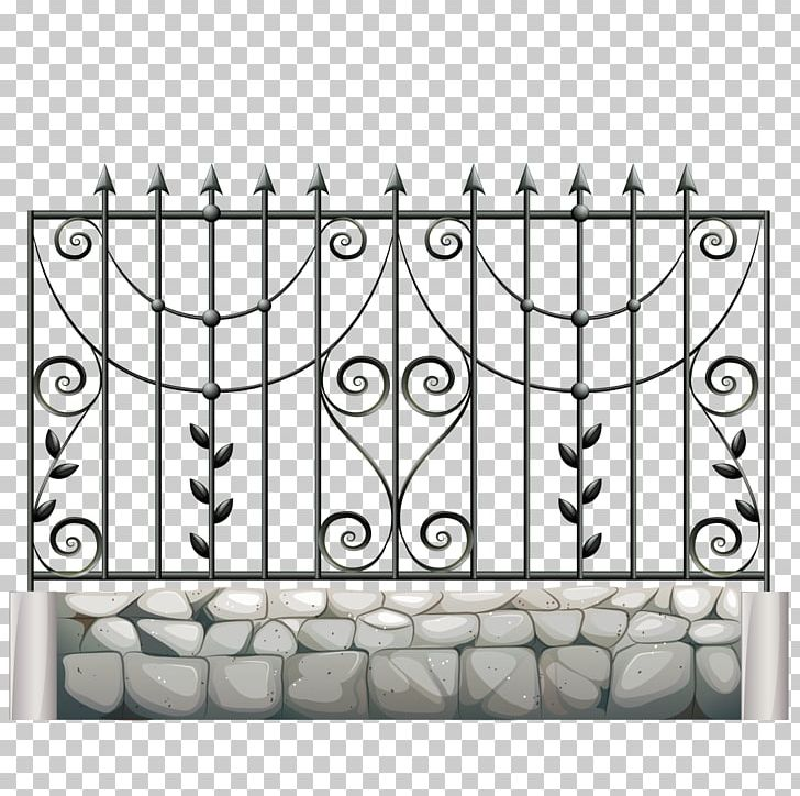 Fence Gate Metal Wrought Iron