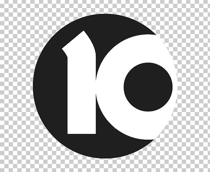 Channel Ten Logo Television Channel Channel 2 PNG, Clipart, Angle, Black And White, Brand, Channel 2, Channel 10 News Free PNG Download