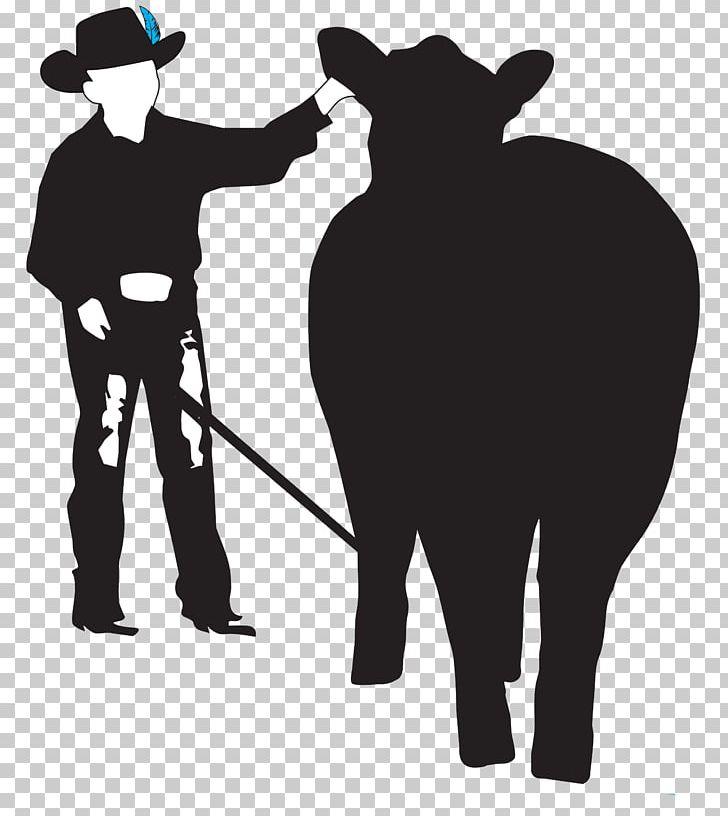 25+ Cowboy Feeding Animals Clipart Black And White