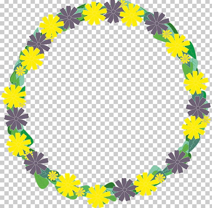 Wreath Yellow Flower Garland PNG, Clipart, Blue, Circle, Clip Art, Floral Design, Flower Free PNG Download