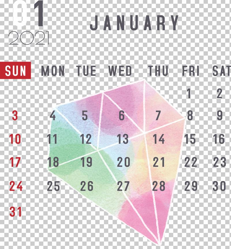 January 2021 Printable Calendar January Calendar PNG, Clipart, 2021 Calendar, Diagram, Geometry, January, January Calendar Free PNG Download