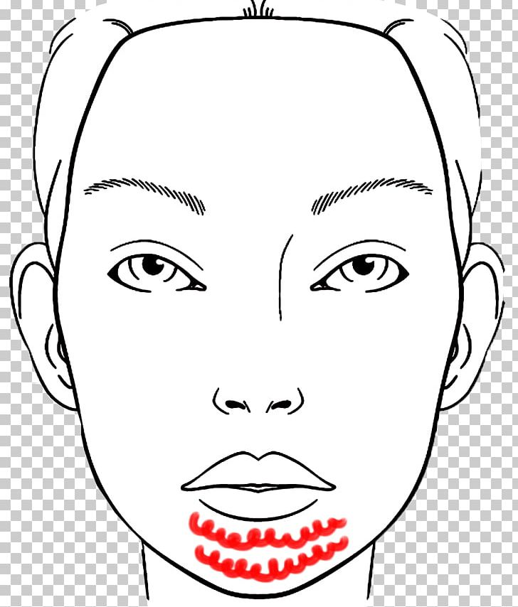 Coloring Book Cosmetics Make Up Artist Face Png Clipart