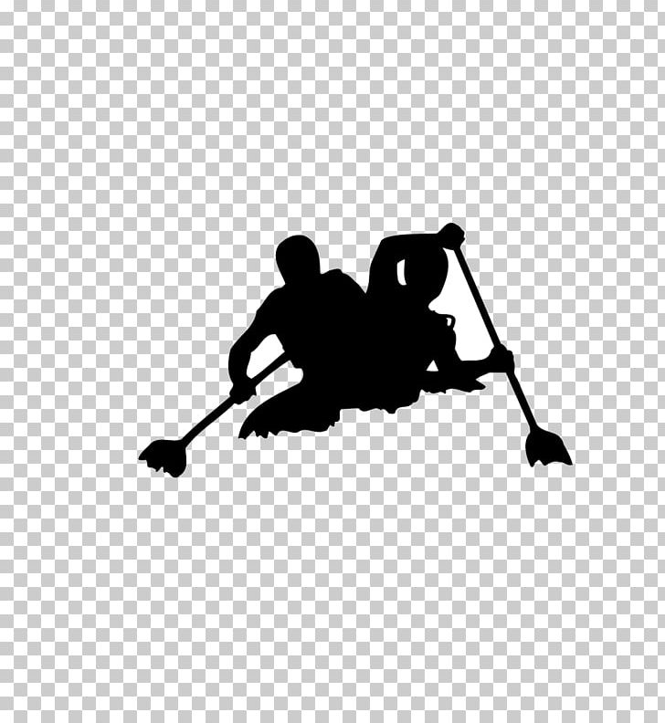 Rafting Kayaking Canoe PNG, Clipart, Black, Black And White, City Silhouette, Computer Wallpaper, Creative Free PNG Download