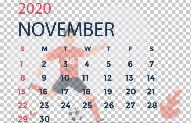 November 2020 Calendar November 2020 Printable Calendar PNG, Clipart, Area, Behavior, Biology, Calendar System, Human Free PNG Download