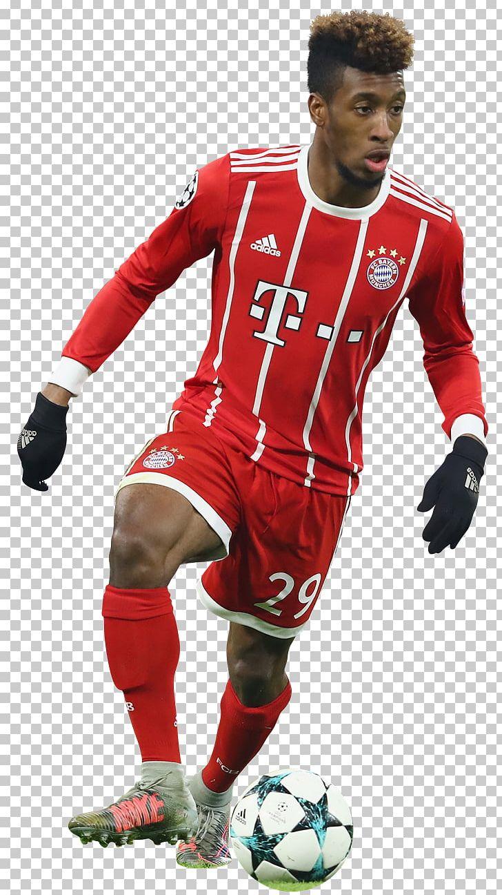 detailed look f697f 33b29 Jersey Kingsley Coman FC Bayern Munich Team Sport Football ...