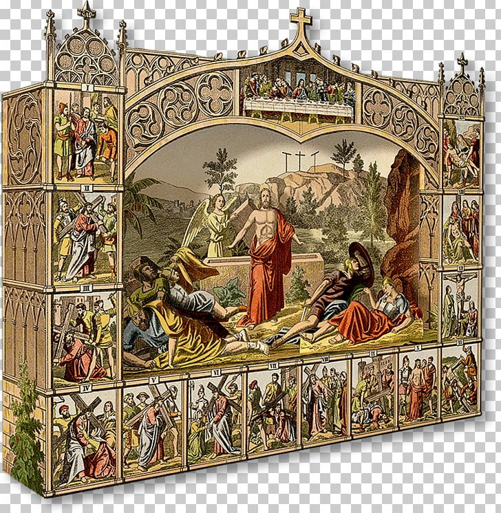 Bible Resurrection Of Jesus Christianity Diorama Stations Of The Cross PNG, Clipart, Art, Bible, Bible Story, Christian Church, Christian Cross Free PNG Download