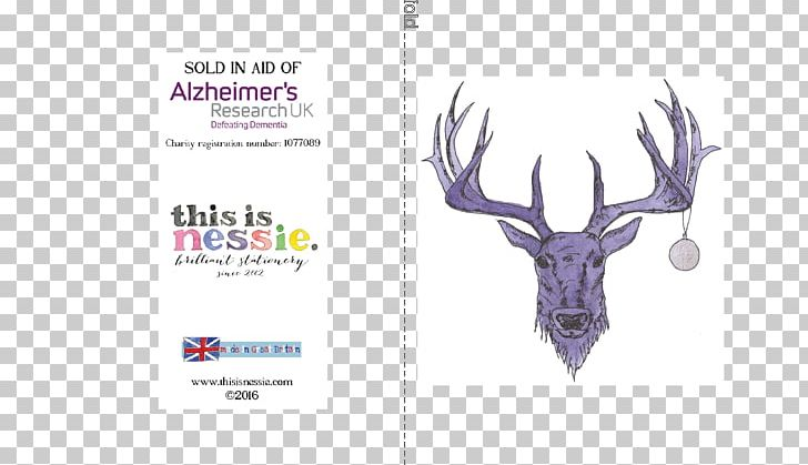 Christmas Card Greeting Deer Alzheimer's Research UK PNG, Clipart,  Free PNG Download