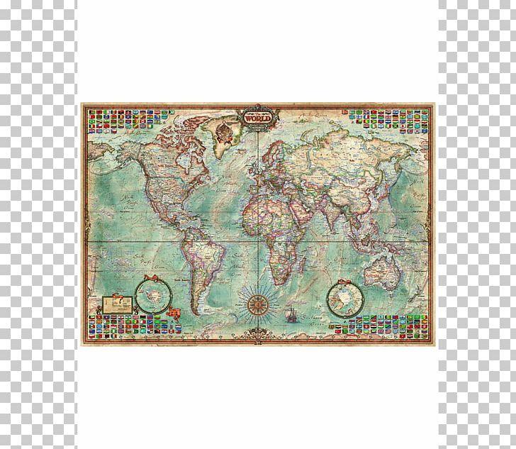 Jigsaw Puzzles World Map Educa Borràs PNG, Clipart, Educa