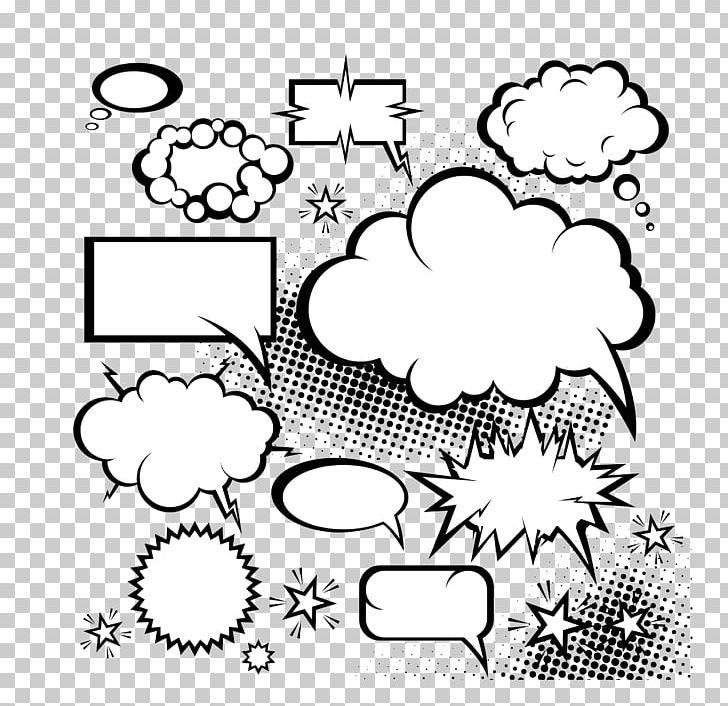Comics Speech Balloon Comic Book Dialogue PNG, Clipart, Black, Cartoon, Circle, Clip Art, Cloud Free PNG Download