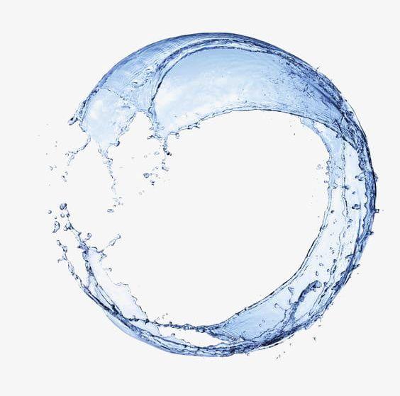 Round Splash Blue Water Flower PNG, Clipart, Blue, Color Splash, Design, Dietary Supplement, Dream Free PNG Download
