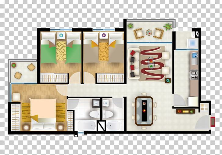 Floor Plan Apartment Bedroom House Furniture Png Clipart