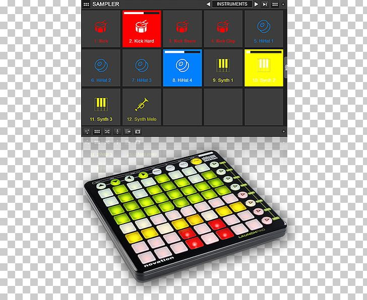 MIDI Controllers Novation Digital Music Systems Ableton Live