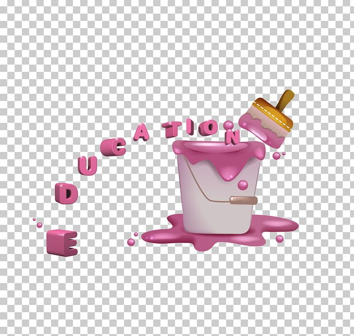 Pink Painting Bucket PNG, Clipart, Bucket, Coffee Cup, Color, Cup, Download Free PNG Download