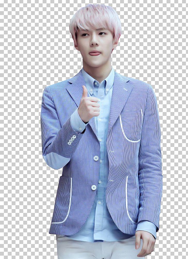 Sehun Exo K Png Clipart Baekhyun Blazer Blue Chanyeol