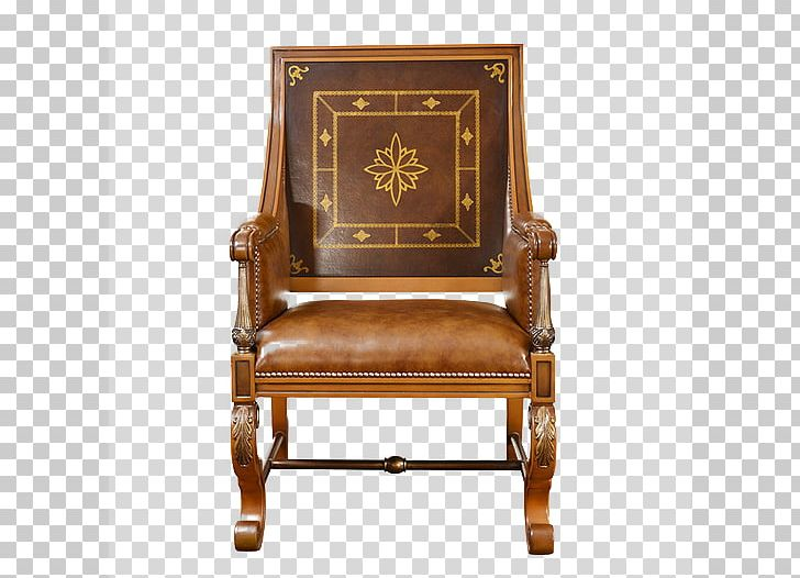 Chair Table Leather Carving Png Clipart Antique Armchair