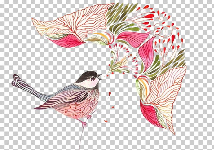 Bird Drawing Animal Watercolor Painting Illustration PNG, Clipart, Animal, Art, Bird, Birdie, Color Free PNG Download