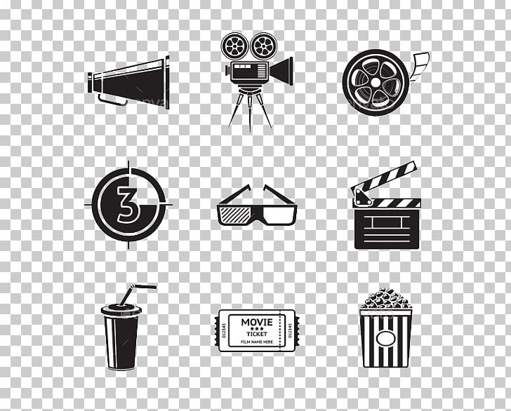 Movie Projector Filmstrip Cinema PNG, Clipart, 3d Film, Angle, Black, Black And White, Brand Free PNG Download