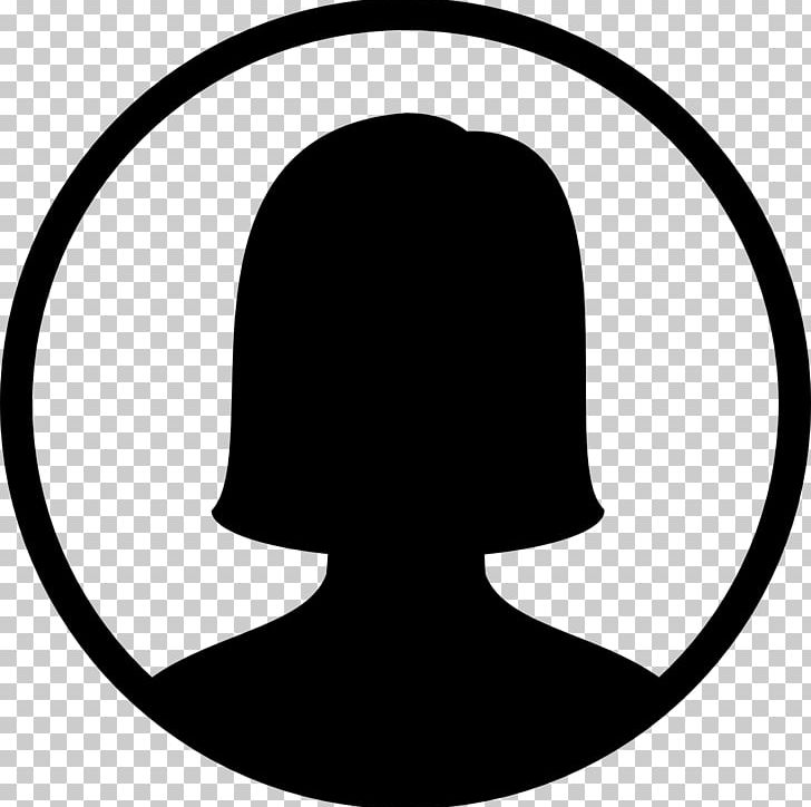 Computer Icons Female User Icon Design PNG, Clipart, Artwork, Avatar, Black, Black And White, Circle Free PNG Download