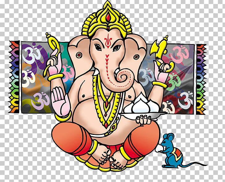 Ganesha Hanuman Ganesh Chaturthi Puthandu PNG, Clipart, Area, Art, Artwork, Cartoon, Chaturthi Free PNG Download