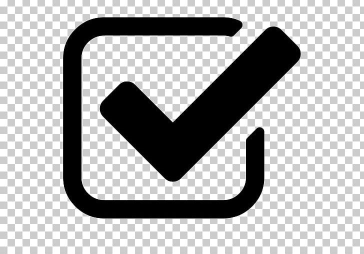 Check Mark Checkbox Computer Icons Font Awesome PNG, Clipart, Angle, Area, Black, Black And White, Checkbox Free PNG Download