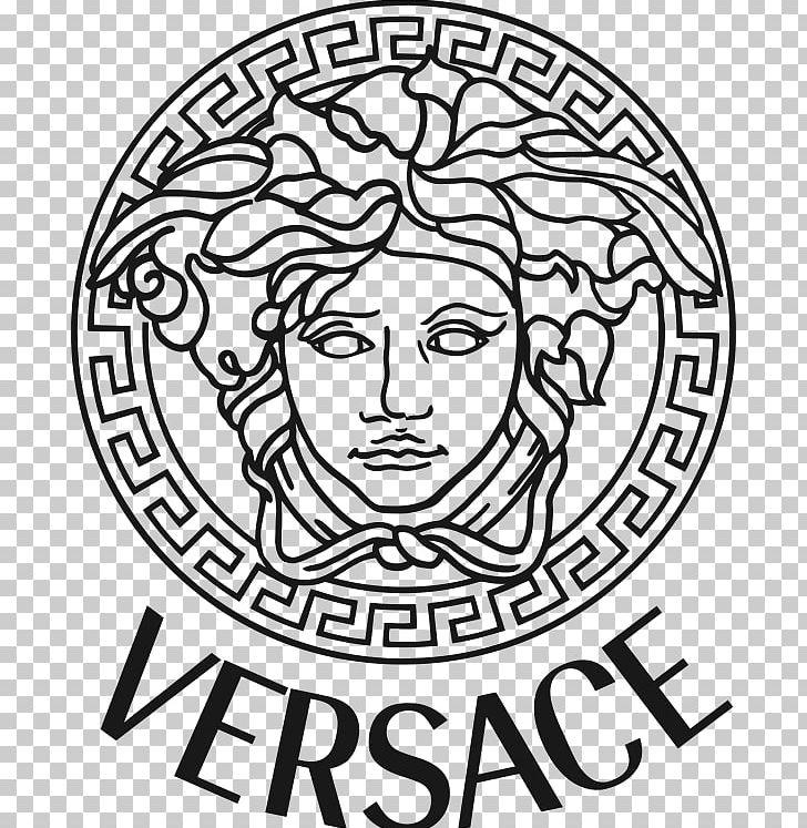 Donatella Versace Brand Fashion Design Png Clipart Art Black And White Circle Designer Clothing Dolce Gabbana