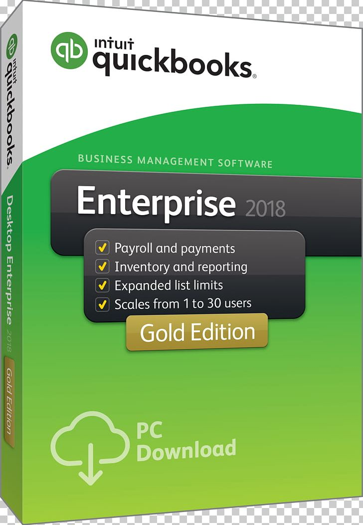 QuickBooks Business & Productivity Software Intuit Computer Software PNG, Clipart, 2018, Accounting, Accounting Software, Brand, Business Free PNG Download