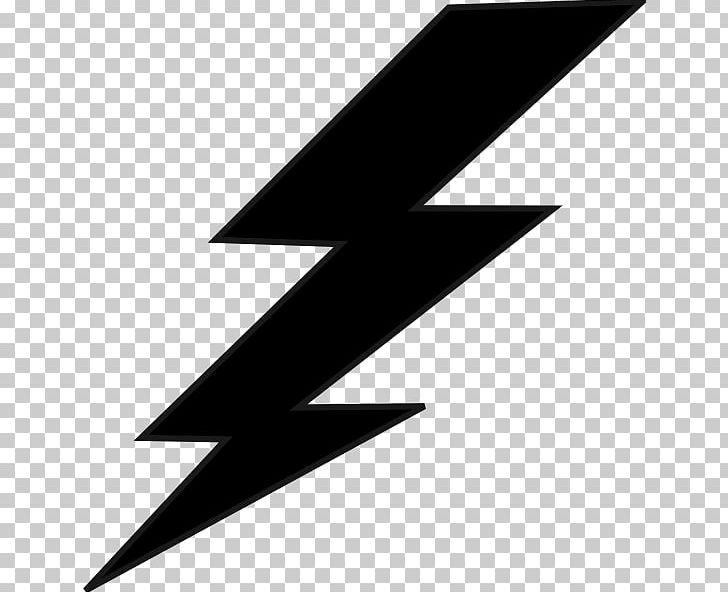 Lightning black. And white png clipart