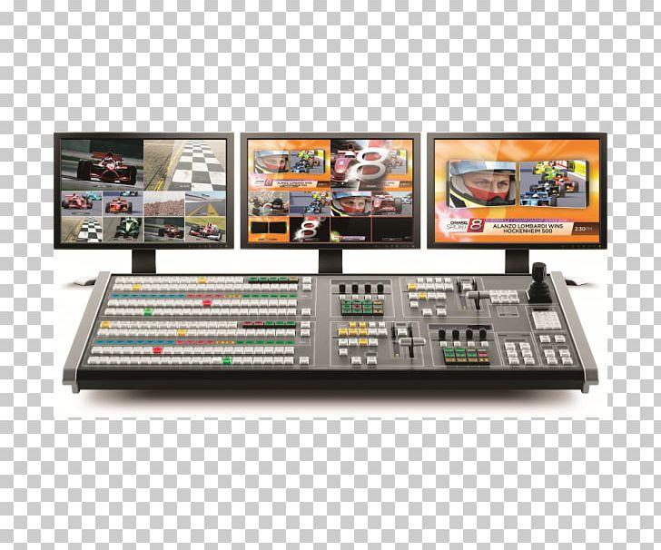 Blackmagic Design Vision Mixer 4K Resolution Broadcasting